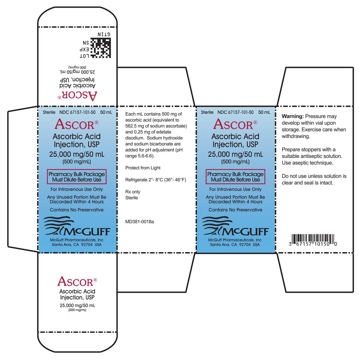 Marketing Material - McGuff Pharmaceuticals, Inc